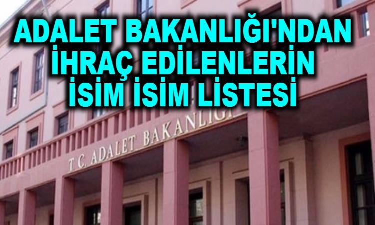 kamuexpress com adalet bakanligi ndan ihrac edilenlerin isim isim listesi